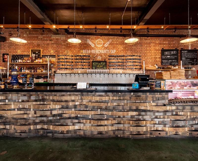 Ground Floor Beer Merchants on Tap Bar