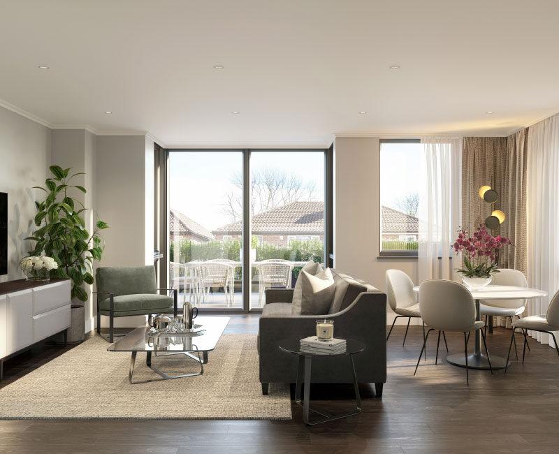 Richardson Mews Living Space