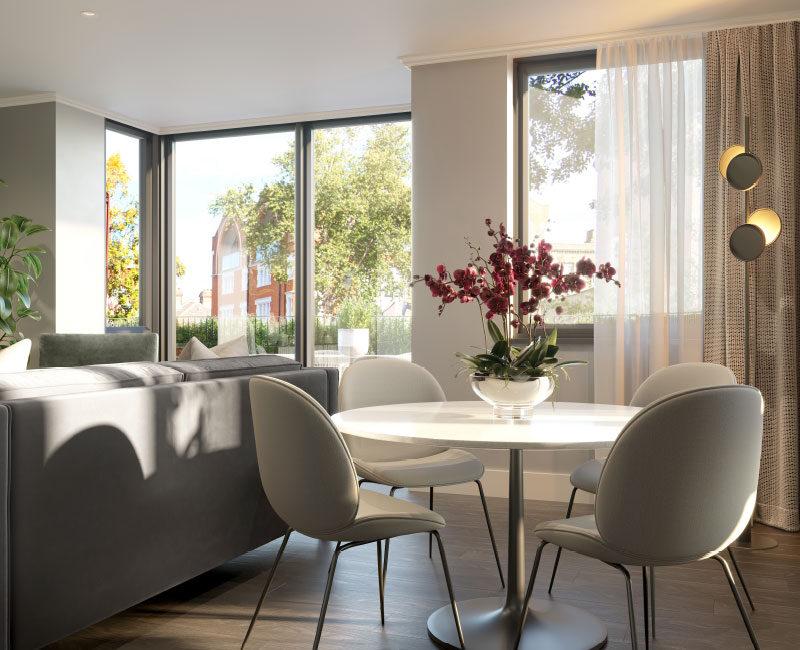 Richardson Mews Dining / Living Space