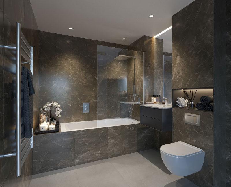 Richardson Mews Master Bathroom