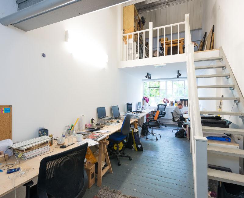 Office Unit with Mezzanine Floor