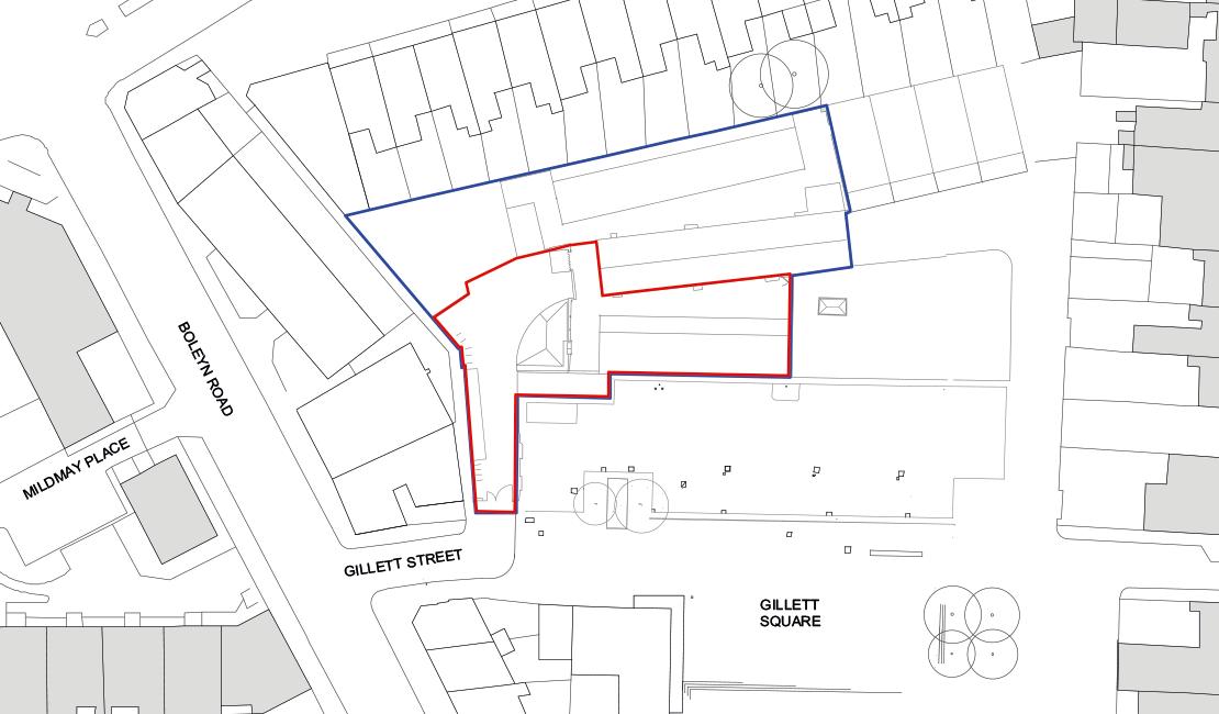 Stamford Works siteplan