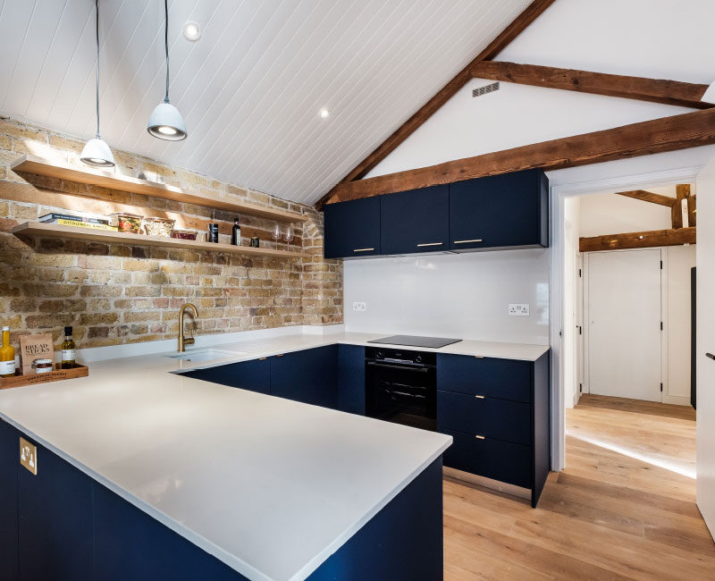 The Old Granary Show Flat Kitchen