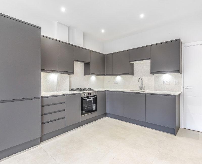 Manchester Road Basement Flat Kitchen